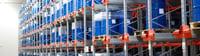 Stockage industriel congélations alimentaires Toyota pour Döhler