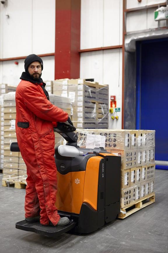 Les basiques de la logistique du froid en manutention